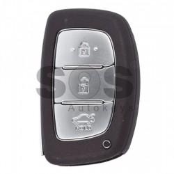 Оригинален смарт ключ за коли Hyundai с 3 бутона - 433 MHz - HITAG 3