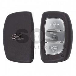Оригинален смарт ключ за коли Hyundai I20 с 3 бутона - 433 MHz