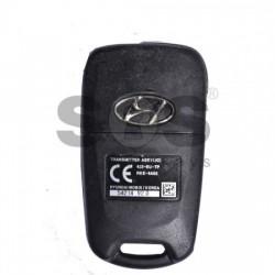 Сгъваем ключ за коли Hyundai с 3 бутона 433MHz HY22