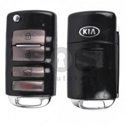 Оригинален сгъваем ключ за коли KIA с 3+1 бутона 433 MHz