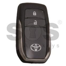 Оригинален смарт ключ за Toyota Hilux с 2 бутона 433 MHz