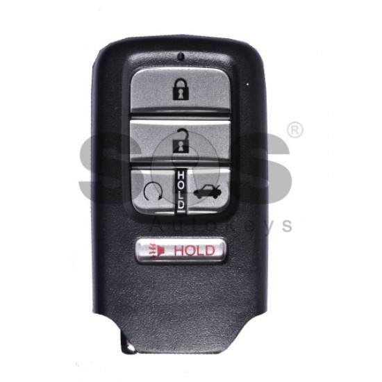 Смарт ключ за коли Honda Civic с 4+1 бутона 433 MHz