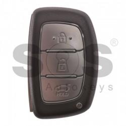Оригинален смарт ключ за коли Hyundai I20 2014+  с 3 бутона - 433 MHz