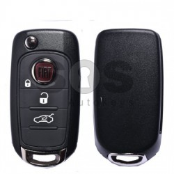 Сгъваем ключ за коли Fiat 500/500X с 3 бутона SIP22
