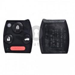 Обикновен ключ за коли Honda CR-V/Fit 3+1 бутона 315MHz