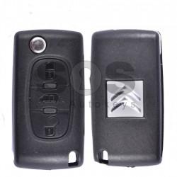 Оригинален сгъваем ключ за коли Citroen с 3 бутона