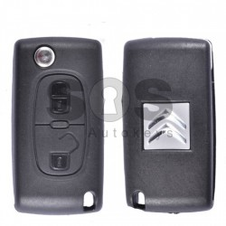 Сгъваем ключ за коли Citroen с 2 бутона - 433 MHz