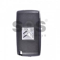 Оригинален сгъваем ключ за коли Citroen с 2 бутона - 433 MHz
