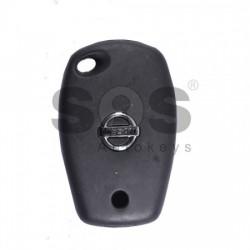 Обикновен ключ за Nissan с 2 бутона 434MHz PCF7961
