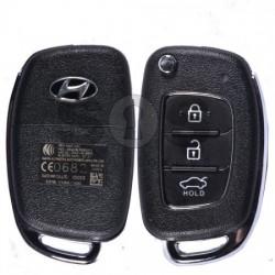 Сгъваем флип ключ за коли Hyundai 433MHz HY22