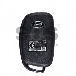 Сгъваем flip ключ за коли Hyundai 433MHz с 3 бутона