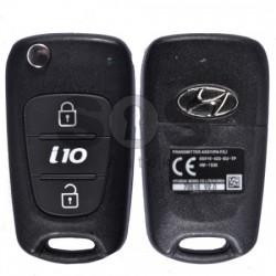 Сгъваем ключ за коли Hyundai I10 с 2 бутона 433MHz PCF 7936