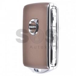 Пакет - 2 смарт ключа за XC90 Keyless Go HUF8432 Черен и Кафяв