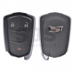 Оригинален смарт ключ за коли Cadillac с 3 бутона 433MHz PCF 7937E Keyless Go
