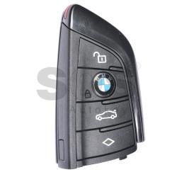 Оригинален смарт ключ за коли BMW с 4 бутона 434MHz Keyless Go
