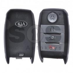 Оригинален смарт ключ за Kia с 3+1 бутона 433 MHz