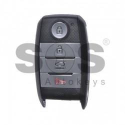 Смарт ключ за Kia с 3+1 бутона 433 MHz