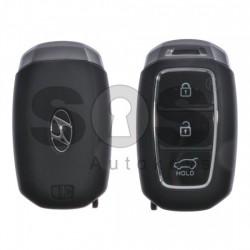 Оригинален смарт ключ за коли Hyundai с 3 бутона - 433Mhz Транспондер: HITAG3