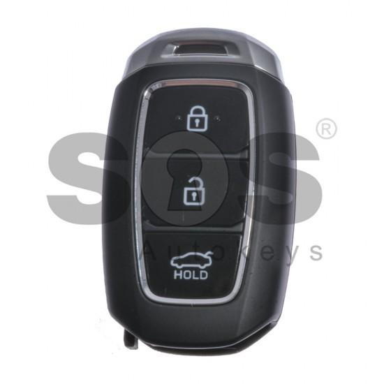 Оригинален смарт ключ за коли Hyundai с 3 бутона - 433MHz HY22