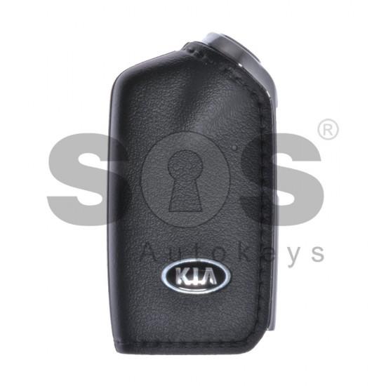 Оригинален сгъваем ключ за коли Kia с 3 бутона 433 MHz ID47
