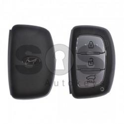 Оригинален смарт ключ за коли Hyundai с 3 бутона - 433MHz Keyless Go