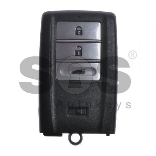 Смарт ключ за коли Honda Acura с 3 бутона 433 MHz