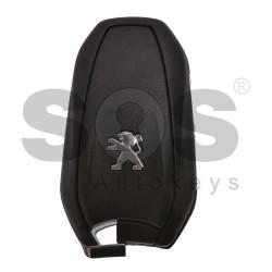 Оригинален смарт ключ за коли Peugeot с 3 бутона 433 MHz