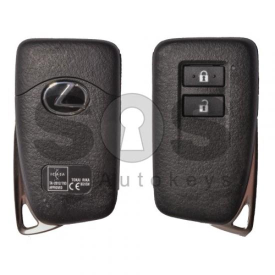 Смарт ключ за коли Lexus с 2 бутона 434MHz Texas Crypto Keyless Go