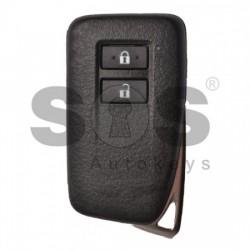 Оригинален смарт ключ за коли Lexus с 2 бутона 434MHz Texas Crypto Keyless Go
