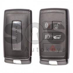 Оригинален смарт ключ за коли Jaguar 4+1 бутона 434 MHz