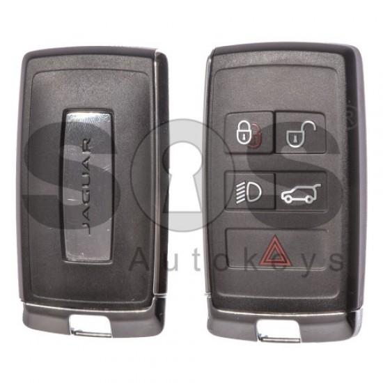 Смарт ключ за коли Jaguar 4+1 бутона 434 MHz