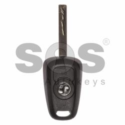 Оригинален ключ за коли Vauxhall 2016+ с 2 бутона 433 MHz