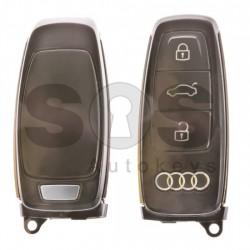 Оригинален смарт ключ за коли Audi с 3 бутона 434 MHz Keyless Go