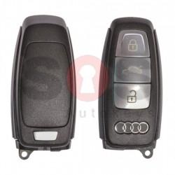 Оригинален смарт ключ за коли Audi A8 с 3 бутона 433 MHz Keyless Go