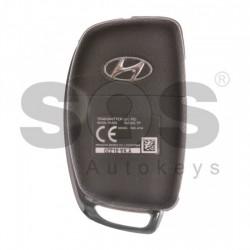 Оригинален сгъваем ключ за коли Hyundai с 3 бутона - 433 MHz
