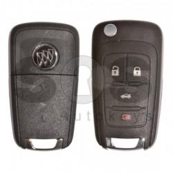 Оригинален сгъваем ключ за коли Buick (GM) с 4 бутона 315MHz BCM Keyless Go