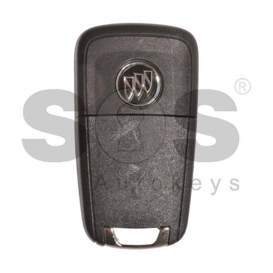 Оригинален смарт ключ за коли Buick (GM) с 4 бутона - 315 MHz HU100