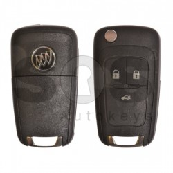 Оригинален сгъваем ключ за коли Buick (GM) с 3 бутона 315MHz HU100
