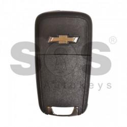 Оригинален сгъваем ключ за коли Chevrolet с 3 бутона - 315 MHz Transponder: HITAG2 / ID46