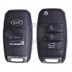 Оригинален сгъваем ключ за коли Kia Soul с 3 бутона 433 MHz HY22