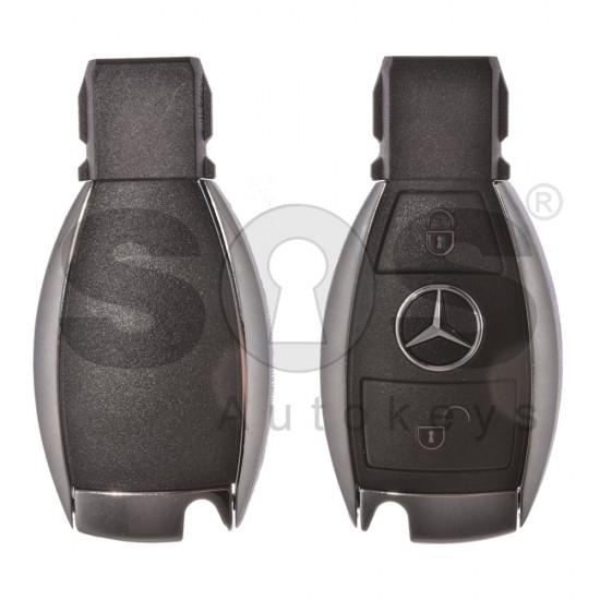 Смарт ключ за коли Mercedes W205 C-Class с 2 бутона 433 MHz