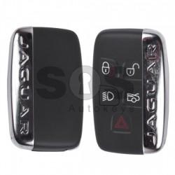 Смарт ключ за коли Jaguar с 4+1 бутона 315MHz PCF 7953 HU101 Keyless Go