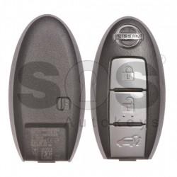 Оригинален смарт ключ за Nissan с 3 бутона 434MHz HITAG 2/ ID 46/ PCF7952