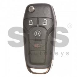 Оригинален сгъваем флип ключ за коли Ford F-150 902 MHz с 3+1 бутона
