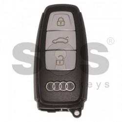 Оригинален смарт ключ за коли Audi 433MHz с 3 бутона HU162T Keyless Go