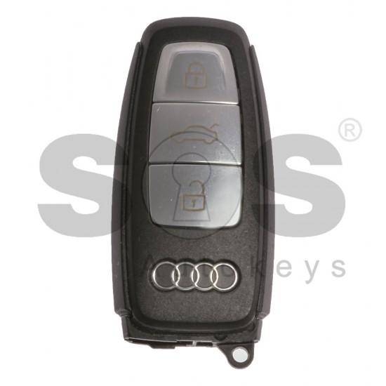 Оригинален смарт ключ за коли Audi E-Tron с 3 бутона HU162T Keyless GO