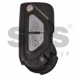 Сгъваем ключ за Citroen DS3 с 2 бутона 434 MHz