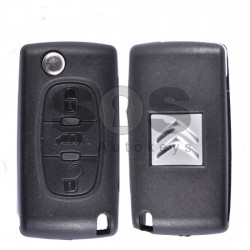 Оригинален сгъваем ключ за Citroen с 3 бутона 433MHz PCF 7941 A