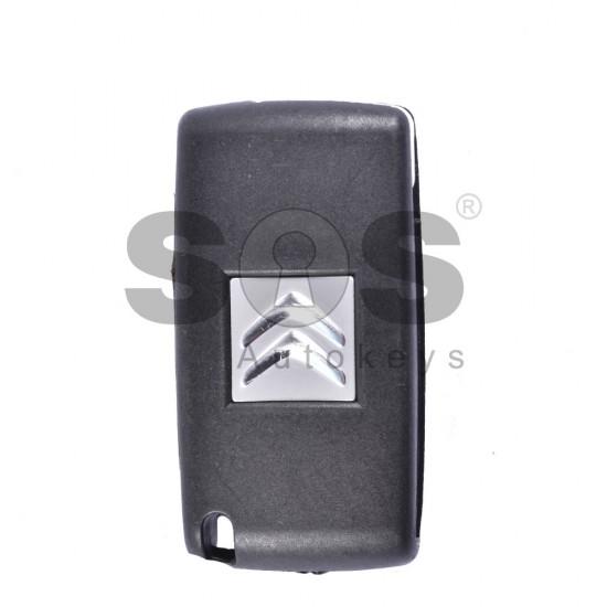 Оригинален сгъваем ключ за Citroen с 3 бутона 433MHz 7941 A