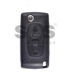 Сгъваем ключ за Citroen с 3 бутона 433MHz 7941 A